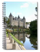 Chateau De Josselin Spiral Notebook