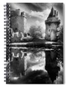 Chateau De Largoet Spiral Notebook