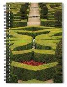 Chateau De Villandry Spiral Notebook