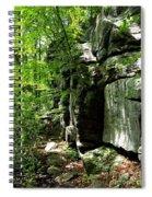 Chatfield Rock Face Spiral Notebook