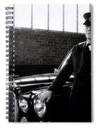 The Chauffeur Spiral Notebook