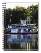 Chautauqua Belle On Lake Chautauqua Spiral Notebook