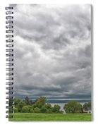 Chautauqua Lake Clouds 8625 Spiral Notebook