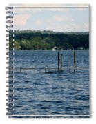 Chautauqua Lake  Spiral Notebook