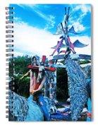Chauvin La Sculpture Garden Spiral Notebook