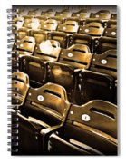 Cheap Seats Spiral Notebook