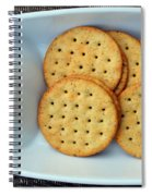 Cheese And Crackers Spiral Notebook