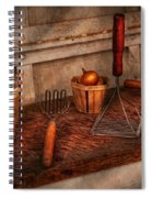 Chef - Food - Equipment For Making Latkes Spiral Notebook