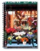 Chelsea Flower Shop Spiral Notebook