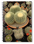 Chelsea Flower Show Cacti Display Spiral Notebook