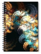 Chenille Spiral Notebook