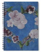 Cherry Blossom Heart Spiral Notebook