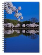 Cherry Blossoms And The Tidal Basin Spiral Notebook