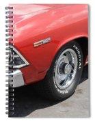 Cherry Chevelle Spiral Notebook