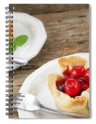 Cherry Dessert Spiral Notebook