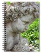 Cherub Of Eternal Sleep Spiral Notebook