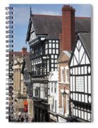 Chester City Skyline Spiral Notebook
