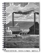 Chester Rolling Mill Spiral Notebook