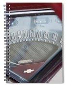 Chevrolet 3100 Truck Speedometer Spiral Notebook