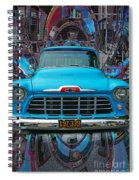 Chevrolet Pick Up Abstract Spiral Notebook