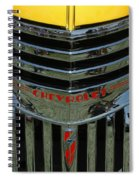 Chevrolet Shine Spiral Notebook