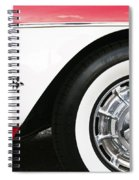 Chevrolette Corvette Sting Ray Convertible Spiral Notebook