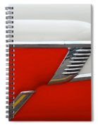 Chevy Door Spiral Notebook