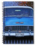 Chevy Front End Spiral Notebook