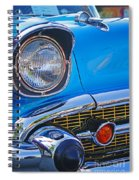 Chevy Headlight Spiral Notebook