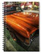 Chevy Impala Spiral Notebook