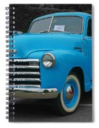 Chevy Pick-up With Bw Background Spiral Notebook