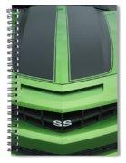 Chevy Ss Emblem Spiral Notebook