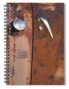 Chevy Truck Door Handle Detail Spiral Notebook