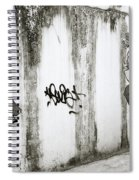 Chiang Mai Graffiti Spiral Notebook