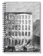 Chicago: Fire, 1868 Spiral Notebook