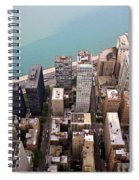 Chicago From Above 2 Spiral Notebook