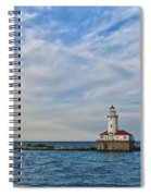 Chicago Lighthouse Spiral Notebook