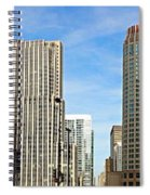 Chicago Panorama 1 Spiral Notebook