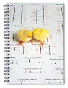 Chicken Genetics Spiral Notebook