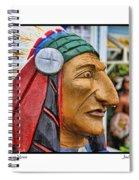 Chief Running Nose Spiral Notebook