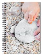 Child Drawing Spiral Notebook