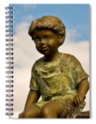 Child In The Clouds Spiral Notebook