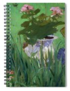 Child In The Flowers Spiral Notebook