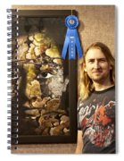 Child Of The Forest - 1st Place. Spiral Notebook