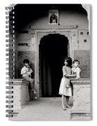 Childhood In Jaipur  Spiral Notebook