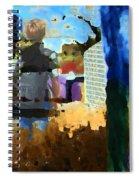 Childhood Of A Boy Spiral Notebook