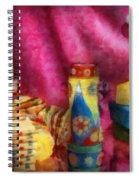 Children - Toy - Earliest Childhood Memories Spiral Notebook