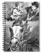 Children, 19th Century Spiral Notebook