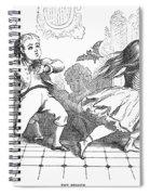 Children And Bat Spiral Notebook