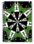 Children Animals Kaleidoscope Spiral Notebook
